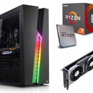 GAMER PC! Ryzen 7 2700X 16GB 512M.2 RTX2070