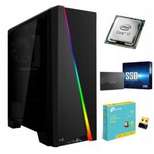 Komputer Core i7 SSD GTX1660 Ti DDR6 16GB WiFi W10